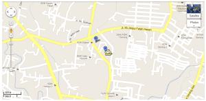 Lokasi Masjid berada di lokasi KOMPLEK PERMATA SERANG